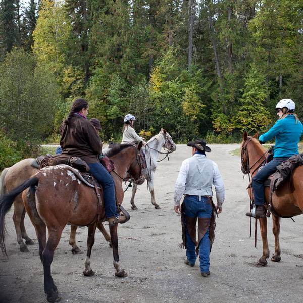 Paardrijden in Wells Gray Provincial Park - British Columbia - Canada - Doets Reizen