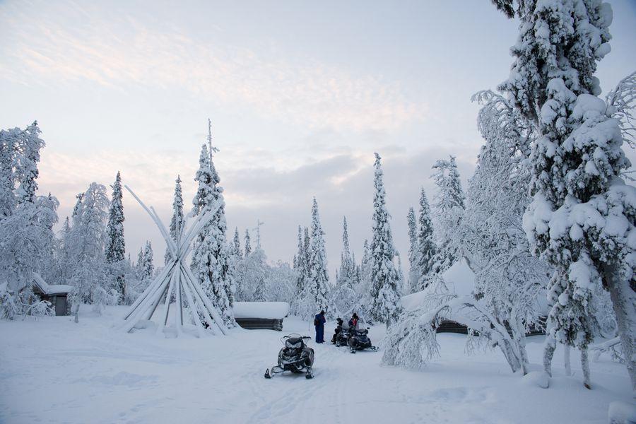Fins Lapland Winter - Doets Reizen - Vakantie Finsland - Credits VisitLapland