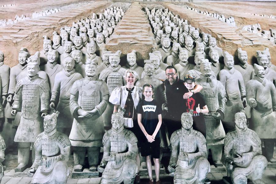 Terracottaleger - Xi'an - China - Doets Reizen