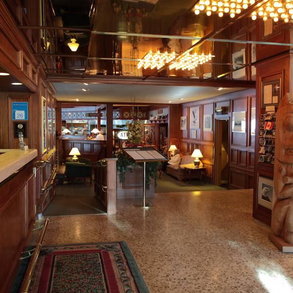Crest Hotel Prince Rupert - lobby