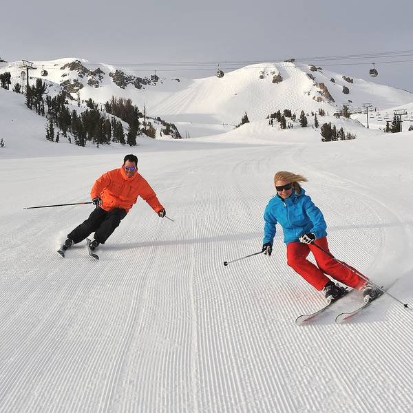 Wintersport Mammoth Mountain California USA
