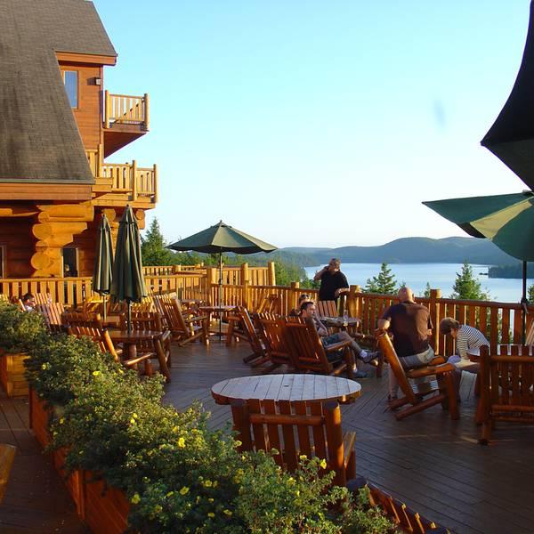 Hotel Sacacomie - terras