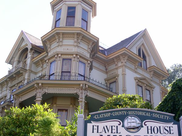 Flavel House - Astoria - Oregon - Doets Reizen