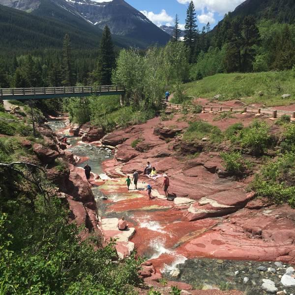 Red Rock Canyon - Waterton Lakes National Park - Alberta - Canada - Doets Reizen