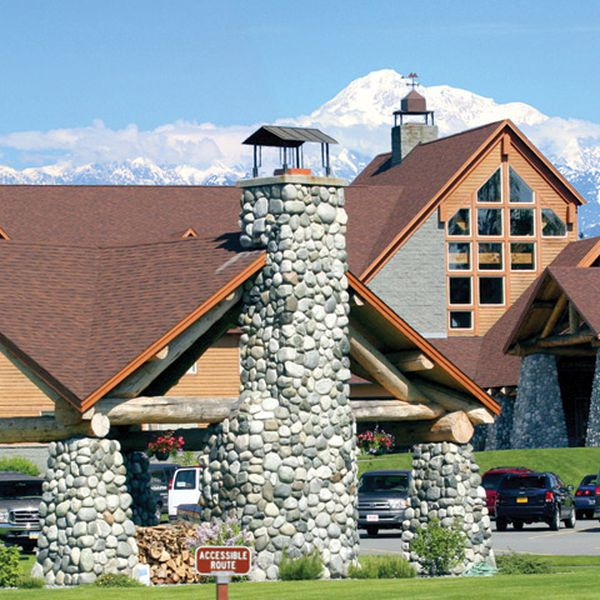Talkeetna Alaskan Lodge - buiten