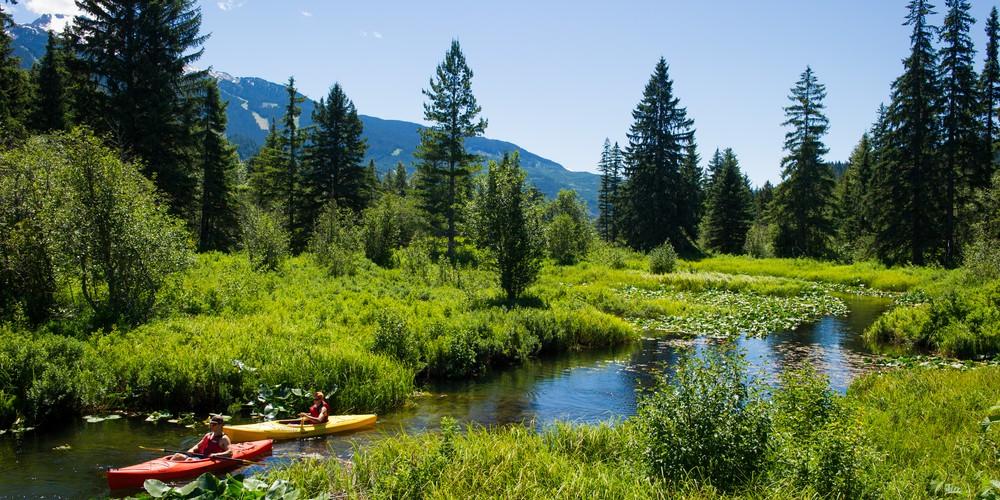 Kano Tour Whistler - British Columbia - Canada - Doets Reizen