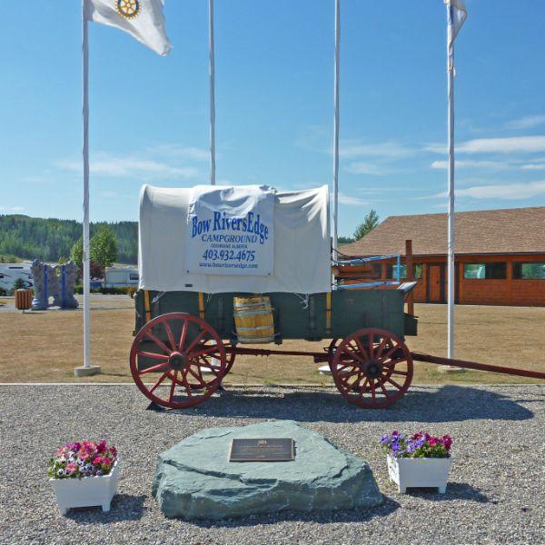 Bow RiversEdge Campground - Wild West sfeer