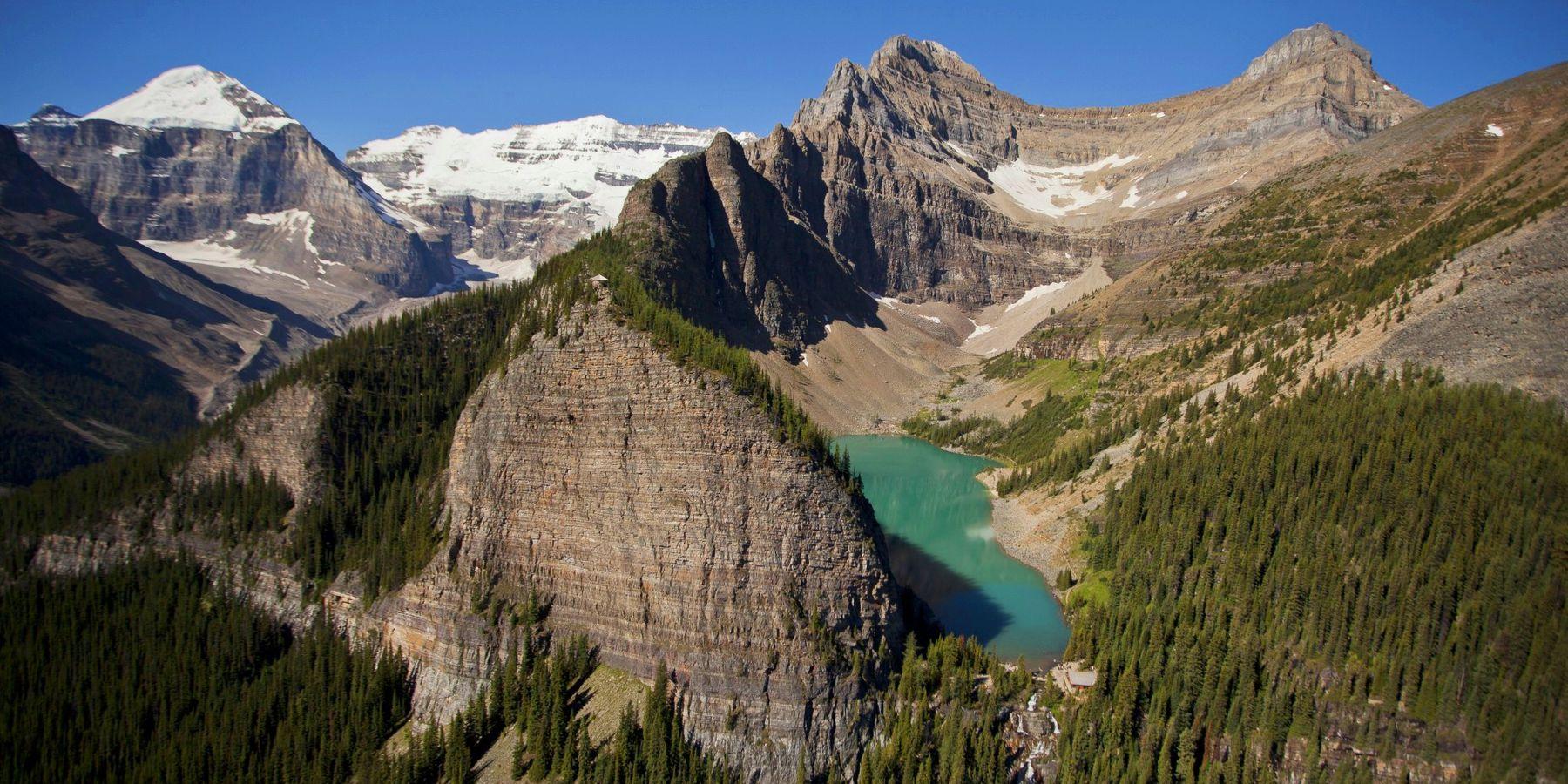Agnes Lake Tea House - Banff National Park - Alberta - Canada - Doets Reizen