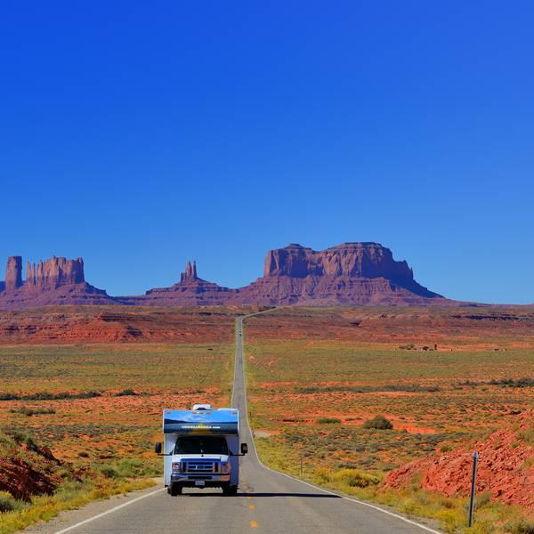 Monument Valley - Cruise America - Camper huren Amerika -Camperreis - Doets Reizen