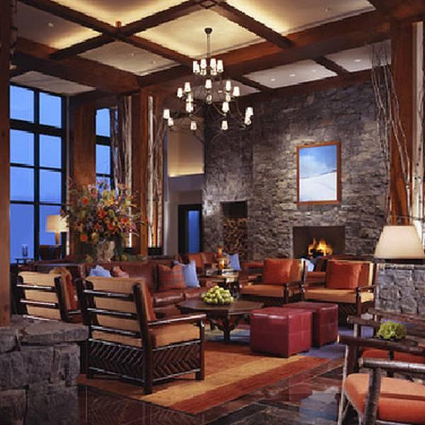 Stowe Mountain lobby
