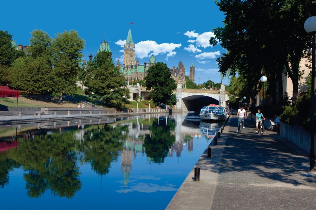 Rideau Canal - Ottawa - Ontario - Canada - Doets Reizen