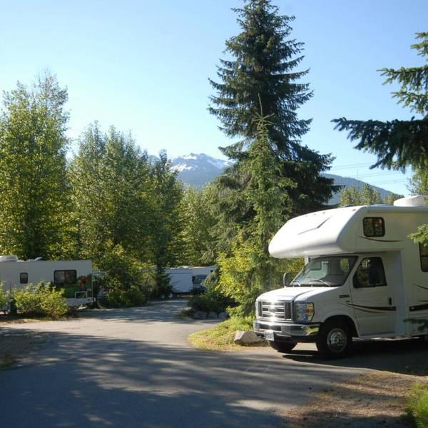 Riverside Resort, voorbeeld van een camperplaats