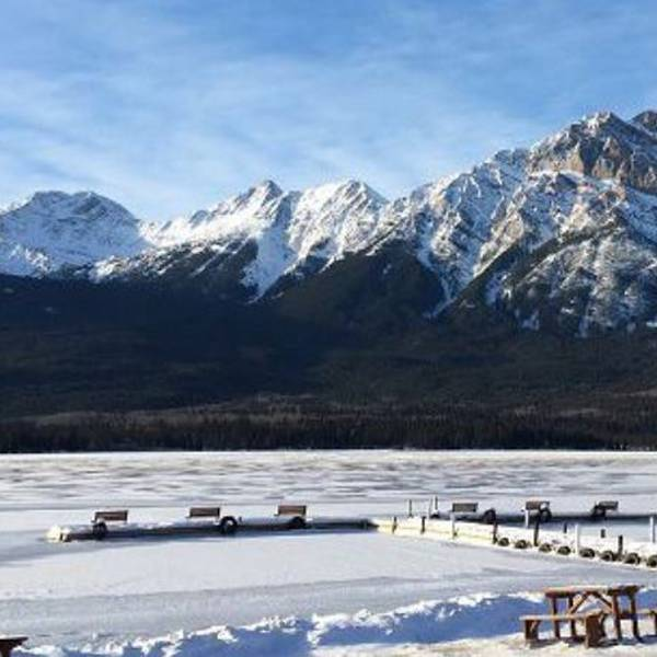 Pyramid Lake Lodge Winter1