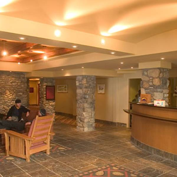 Sunshine Mountain Lodge Lobby