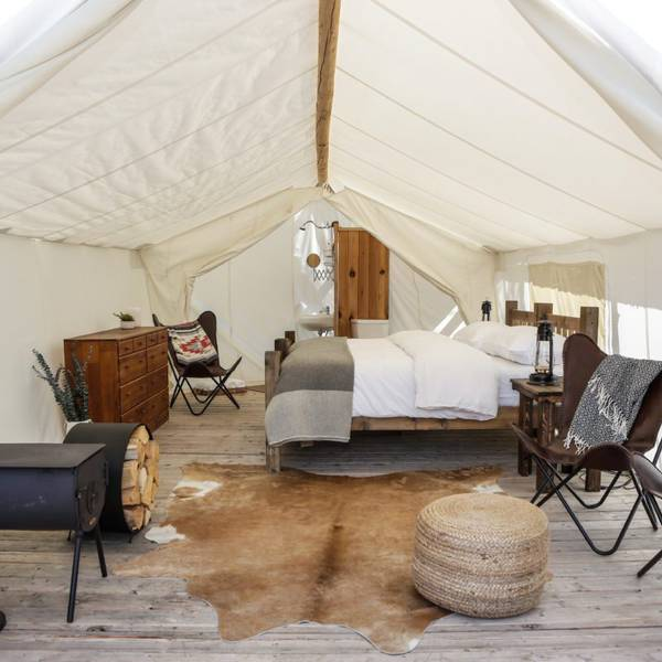 Under Canvas Grand Canyon - deluxe tent 1
