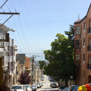 San Francisco - Lombard Street en Sausolito - Dag 18 - Foto
