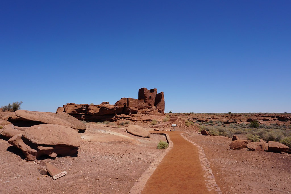 Wupatki National Monument - Arizona - Doets Reizen