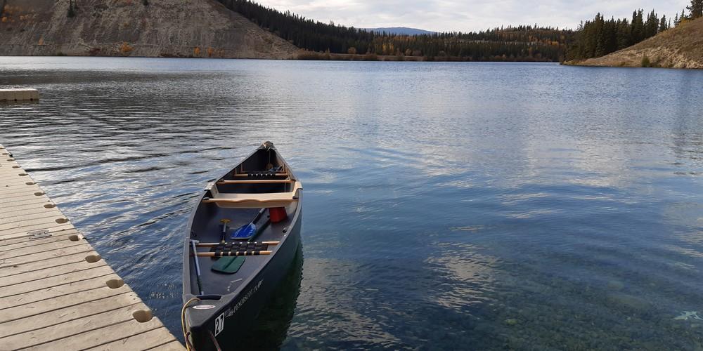 Kanoën Miles Canyon - Whitehorse - Yukon - Canada - Doets Reizen
