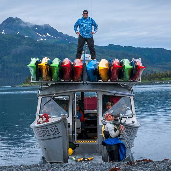Columbia Glacier Kayaking Tour - Valdez - Alaska - Doets Reizen
