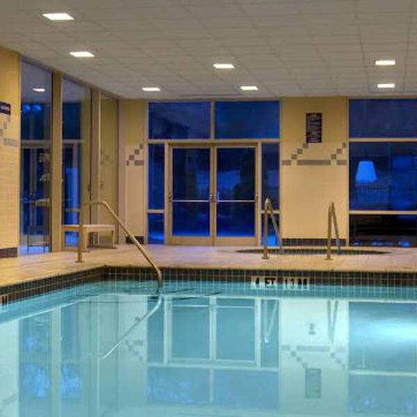 Hilton hotel Atlanta Airport - Binnenzwembad