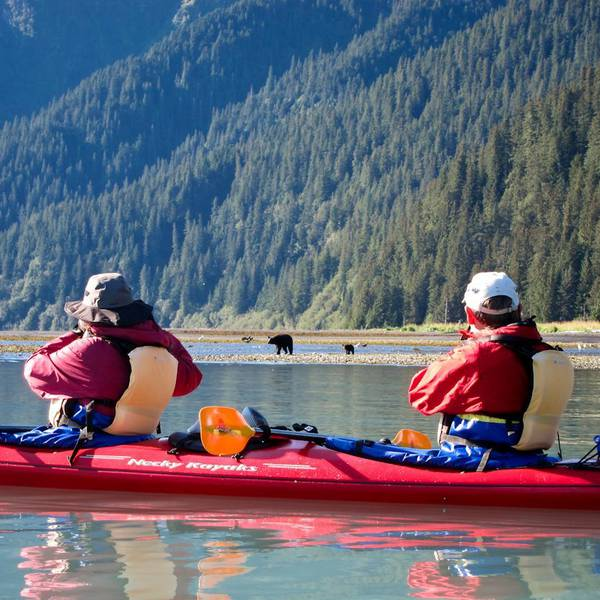 Kayaking Tour - Bear Glacier - Seward - Alaska - Doets Reizen