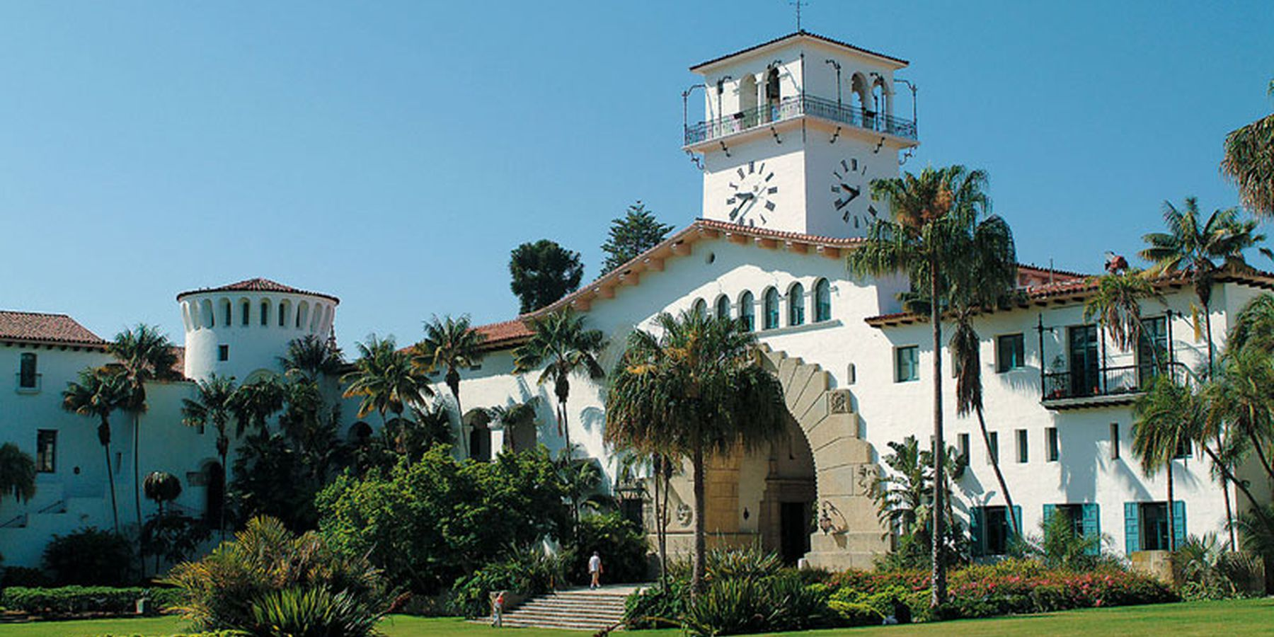 County Courthouse - Santa Barbara - California - Amerika - Doets Reizen