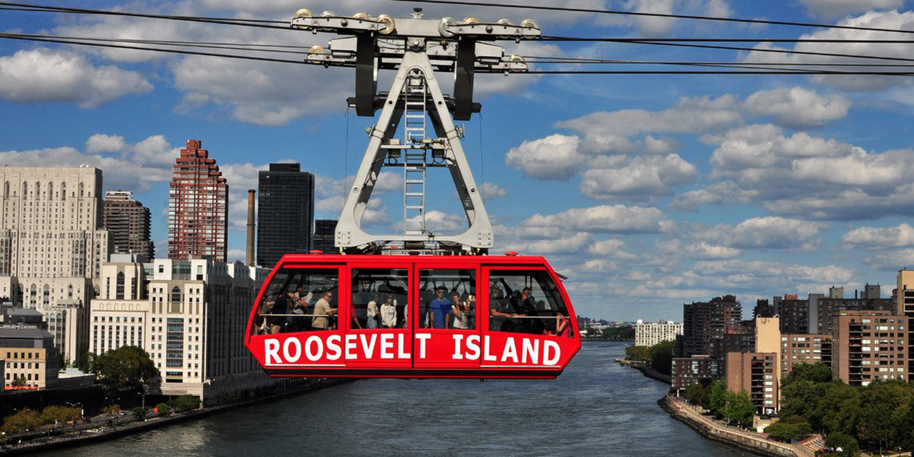 Roosevelt Island tramway - New York - Doets Reizen