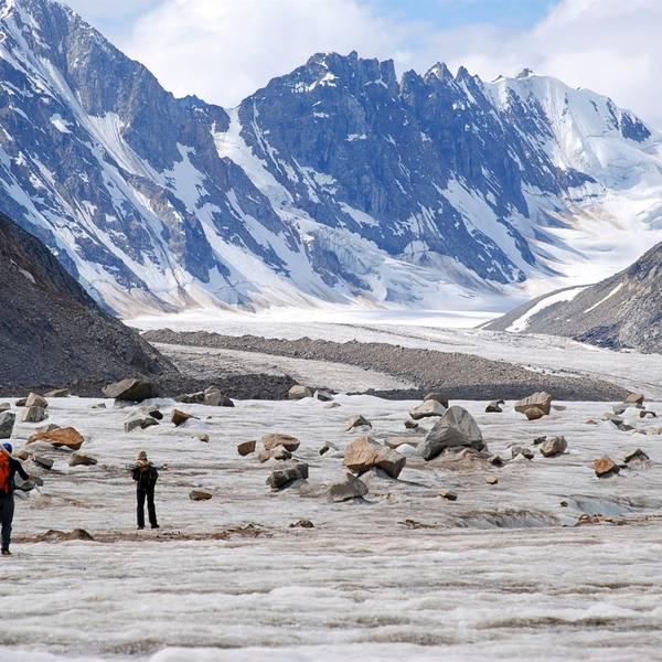 Black Rapids Glacier - Paxson - Alaska - Doets Reizen