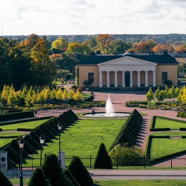 Botanische tuinen Uppsala