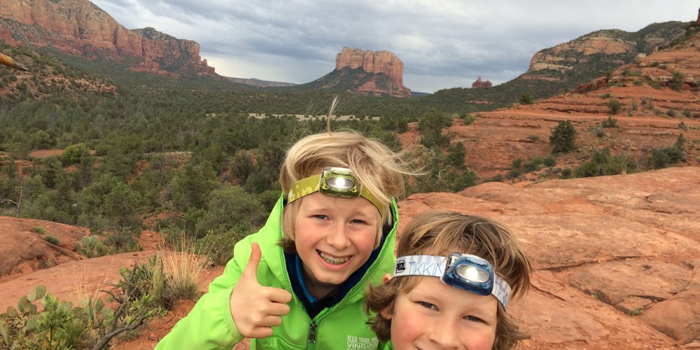Cathedral Rock Hike - Sedona - Arizona - Doets Reizen