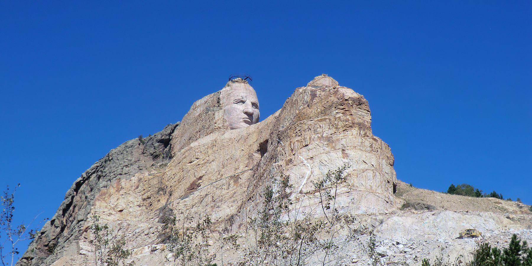 Crazy Horse Memorial - South Dakota - Amerika - Doets Reizen