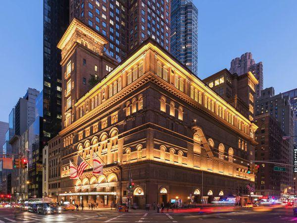Carnegie Hall - New York - Doets Reizen