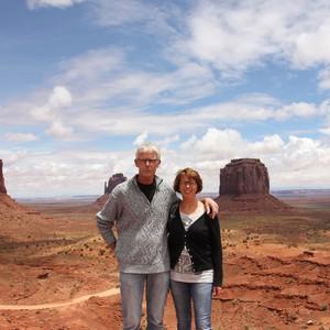 Reisdag 15  24 mei Monument Valley - Dag 15 - Foto
