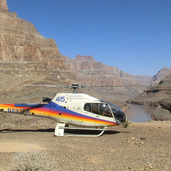 Grand Celebration Helikoptervlucht - Las Vegas - Grand Canyon West - Nevada - Doets Reizen