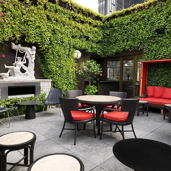 Kimberly Apartments New York - terras
