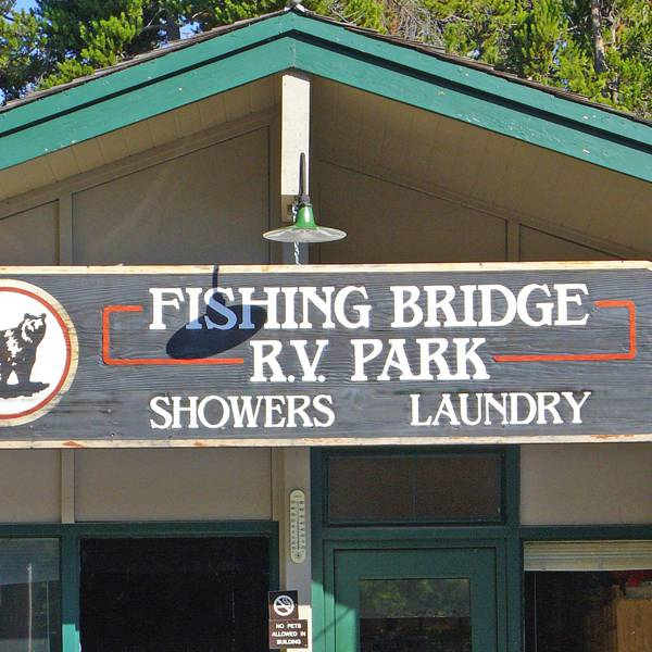Fishing Bridge RV Park 1