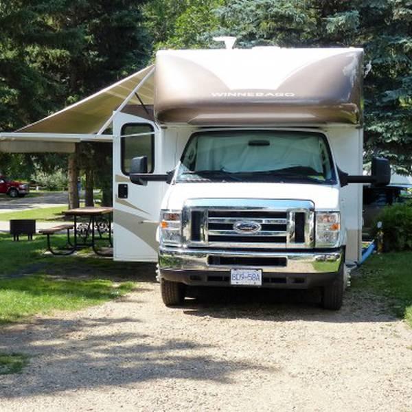 Devon Lions Campground, camperplaats