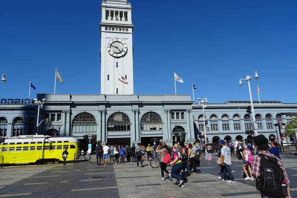 Ferry Building - San Francisco - California - Amerika - Doets Reizen