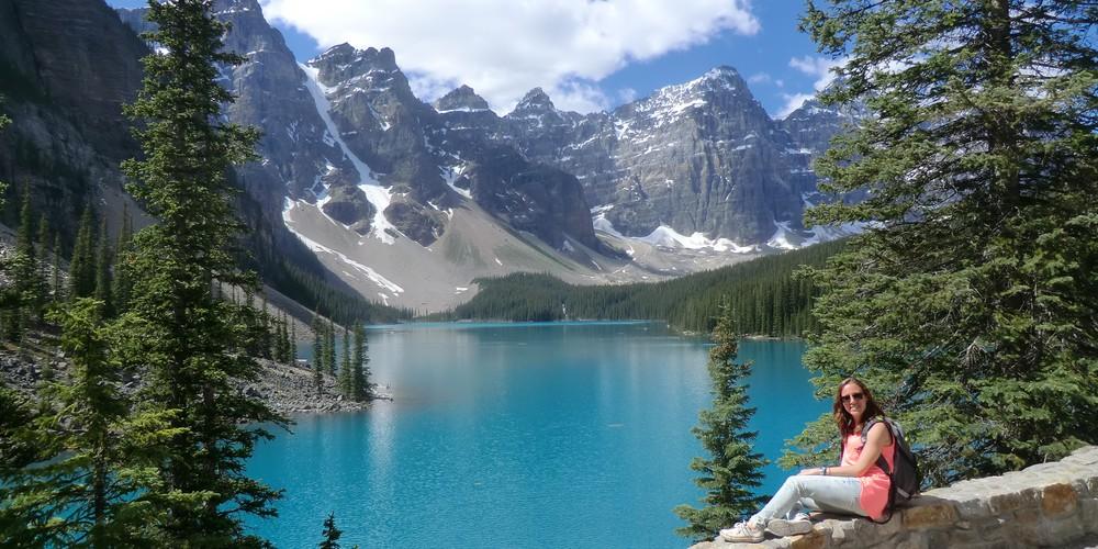 Moraine Lake - Banff National Park - Alberta - Canada - Doets Reizen