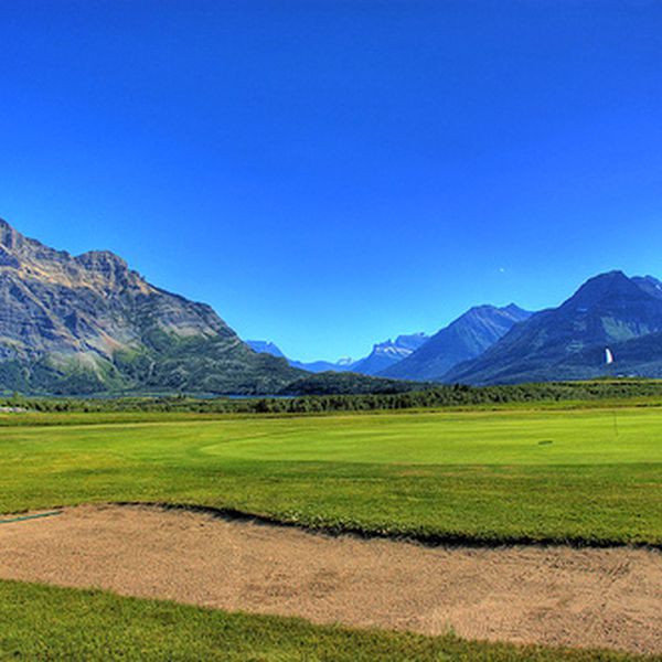Waterton Lakes - Golf - Golfen West Canada - Doets Reizen