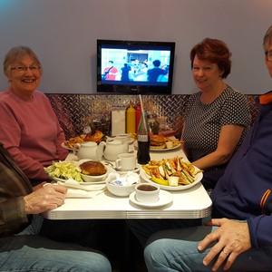 Reisdag en bij familie - Dag 7 - Foto