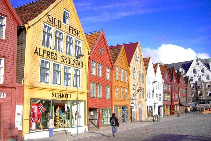 Bergen - Noorwegen - vakantie Noorwegen - Doets Reizen