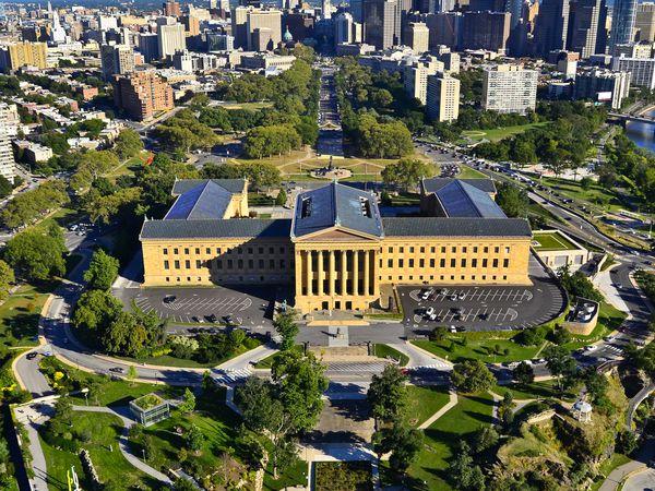 Philadelphia Museum of Art - Pennsylvania - Amerika - Doets Reizen