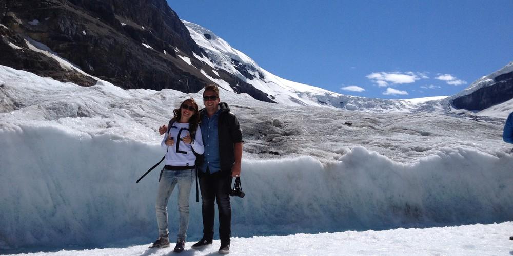 Athabasca Glacier - Icefields Parkway - Alberta - Canada - Doets Reizen