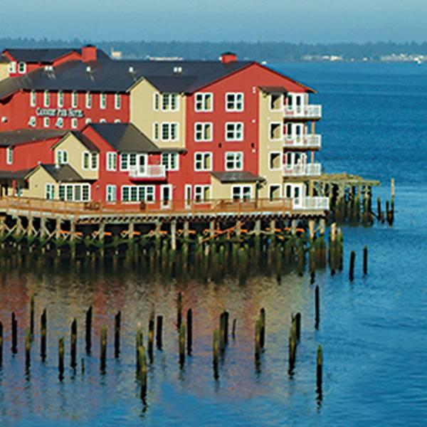 Cannery Pier Hotel - aanzicht