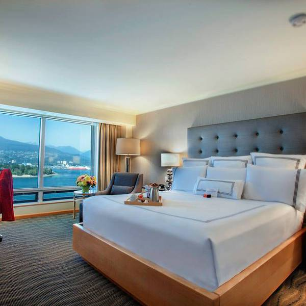 Pan Pacific Vancouver - Deluxe Harbour King