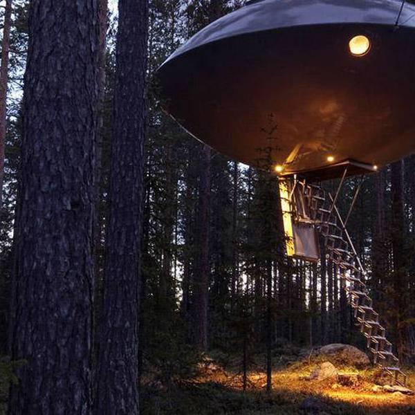 Treehotel- Doets Reizen - Vakantie in Zweden - Credits Visit Sweden