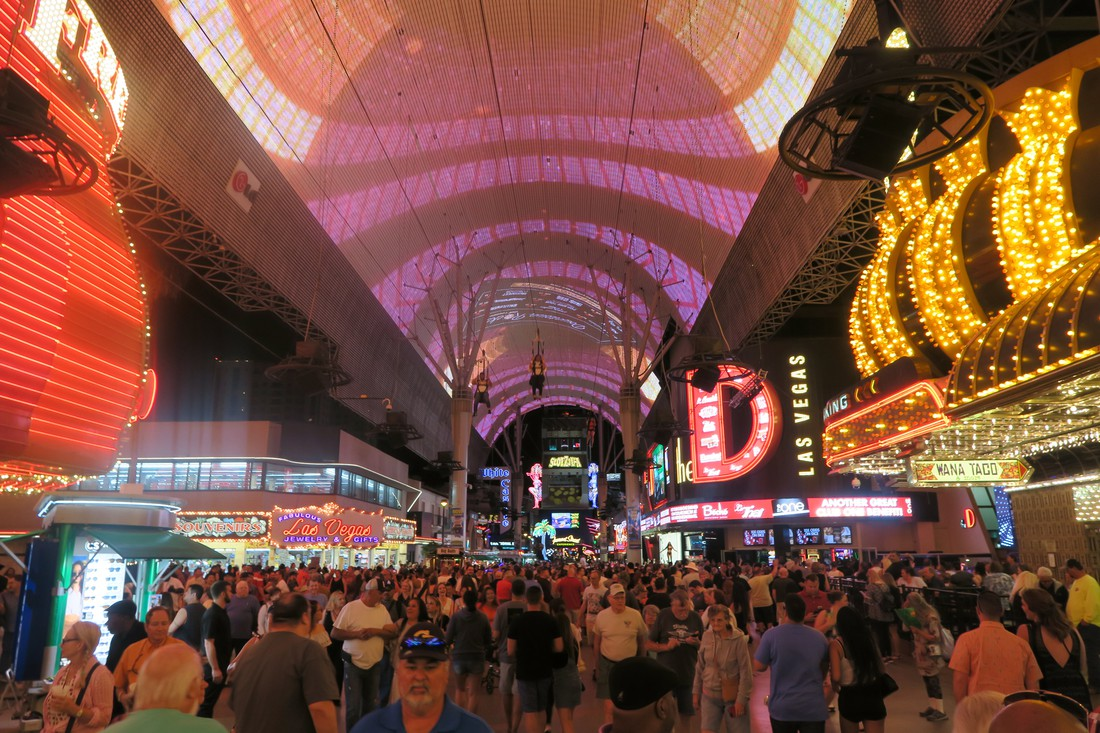 Freemont Street - Las Vegas - Nevada - Doets Reizen