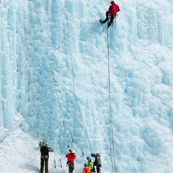 Wintersport - IJsklimmen - Banff - Lake Louise - Alberta - Canada - Doets Reizen