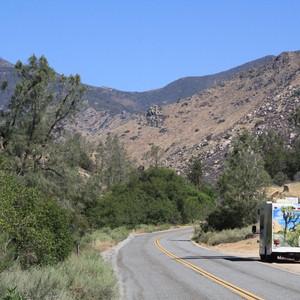 Mooie route via Trail of the 100 Giants - Dag 4 - Foto